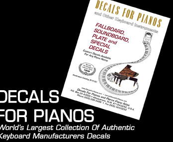 decals for pianos