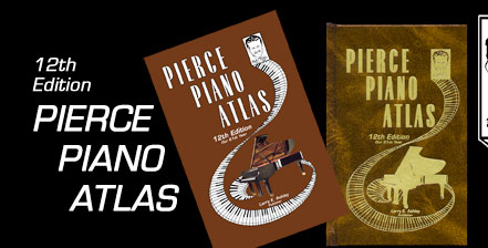 12th Edition Pierce Piano Atlas